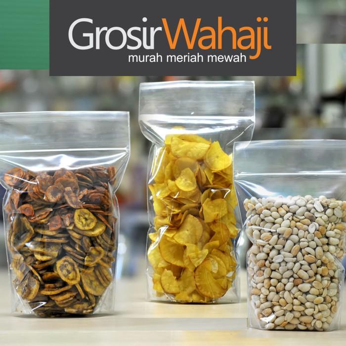 Plastik kemasan makanan ringan 16 x 32 cm / plastik keripik / pouch