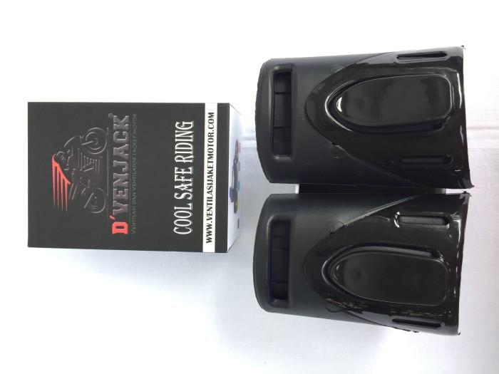 harga Ventilasi jaket motor kawasaki ninja / honda cbr / yamaha r25 hitam Tokopedia.com