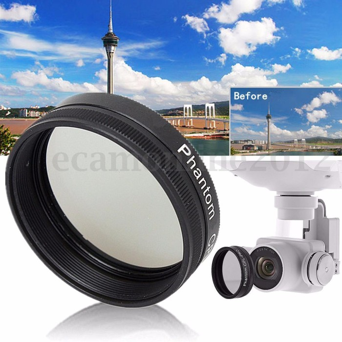 harga Circular cpl-pro lens filter slim polarizer for dji phantom 3 / 4 Tokopedia.com