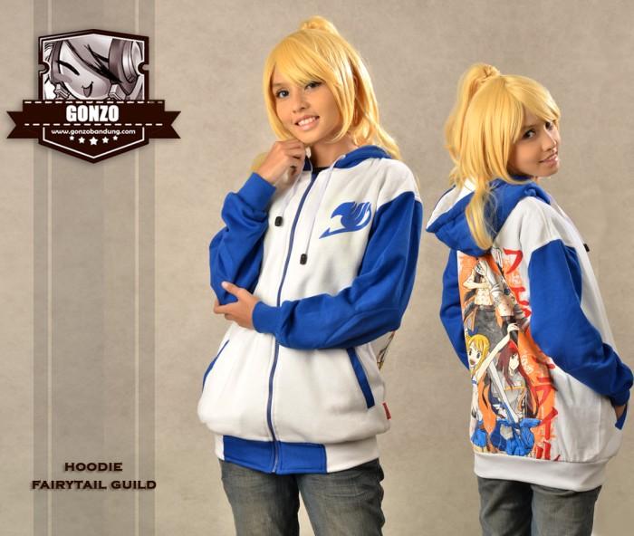 harga Hoodie fairy tail guild hoodie anime gonzo bandung Tokopedia.com