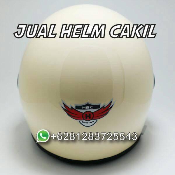 081283725543 Jual Helm Cakil HBC Pilot Cream 3