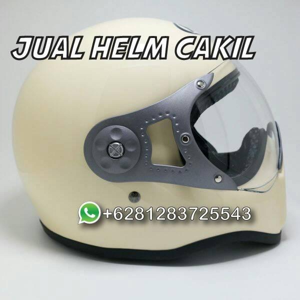 081283725543 Jual Helm Cakil HBC Pilot Cream 1