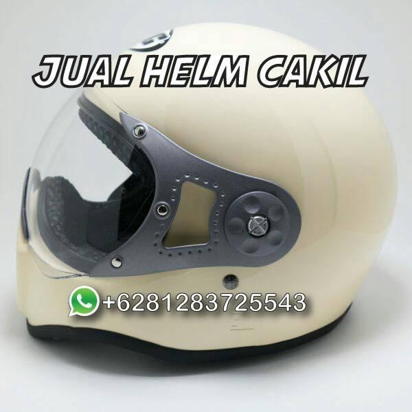 081283725543 Jual Helm Cakil HBC Pilot Cream 2