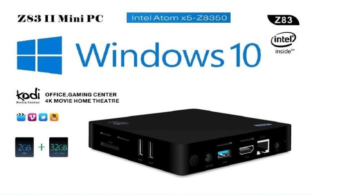 harga Mini pc z83 ii intel atom x5-z8350 2gb ram 32gb rom tv box windows 10 Tokopedia.com