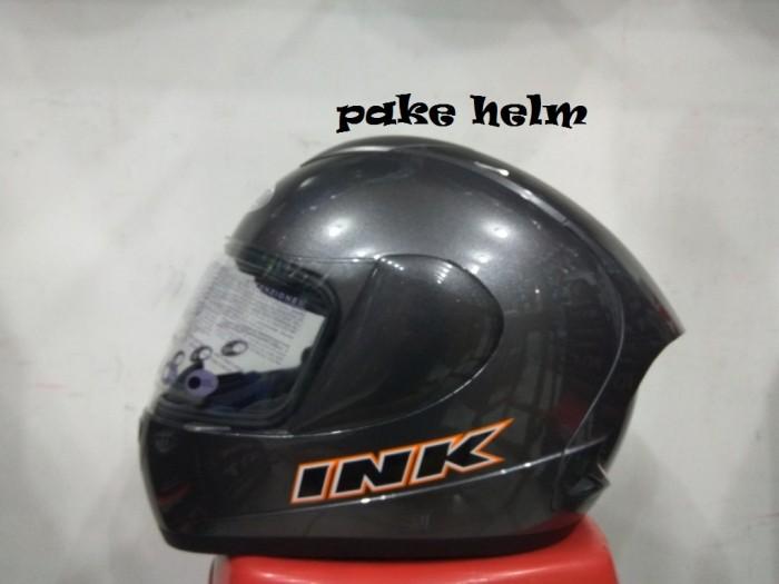 harga Helm Ink Cl Max Solid Abu Abu Tua Full Face Tokopedia.com