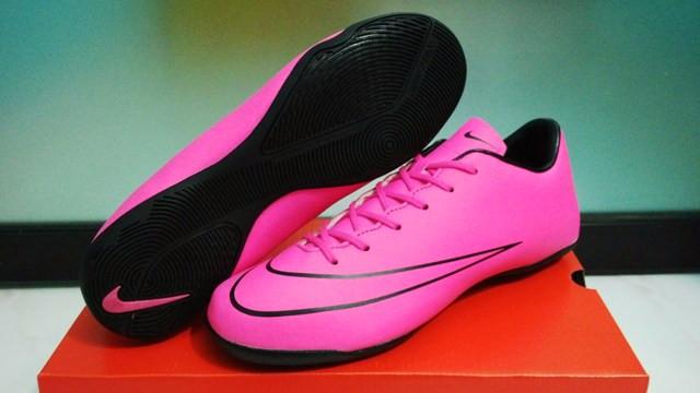 Nike Mercurial Vapor X Pink Storm  Sepatu Futsal   Replika Import  ter 08beb21804