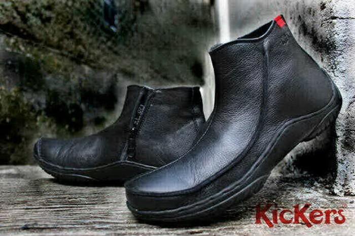 harga Sepatu boot casual kickers pria kulit [jn 34] Tokopedia.com