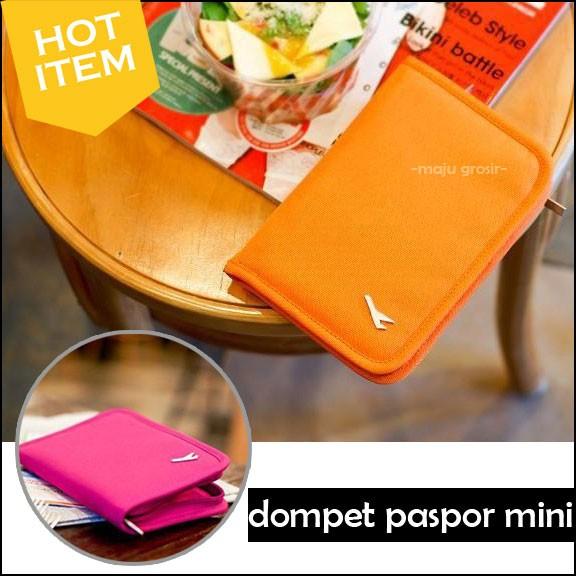 harga Dompet paspor / pasport holder wallet card id mini Tokopedia.com