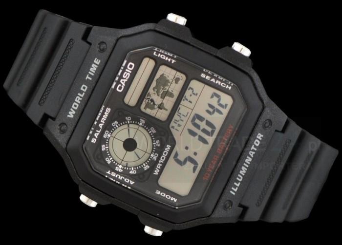 harga Casio ae-1200wh-1b original murah garansi resmi casio 1 tahun Tokopedia.com