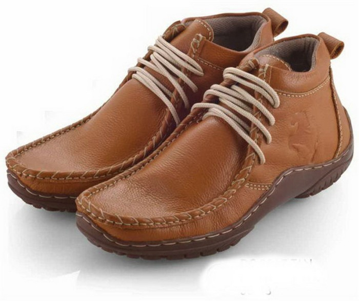 harga Sepatu boot/boots casual/santai pria kulit [evo 119] Tokopedia.com