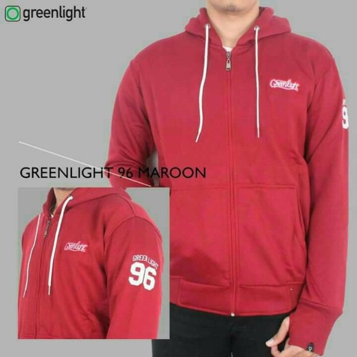 jaket sweater hoodie zipper greenlight 96