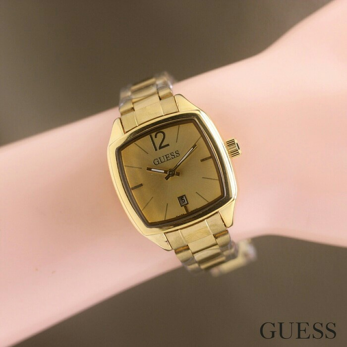 harga Jam tangan wanita / cewek guess segi rantai full gold Tokopedia.com