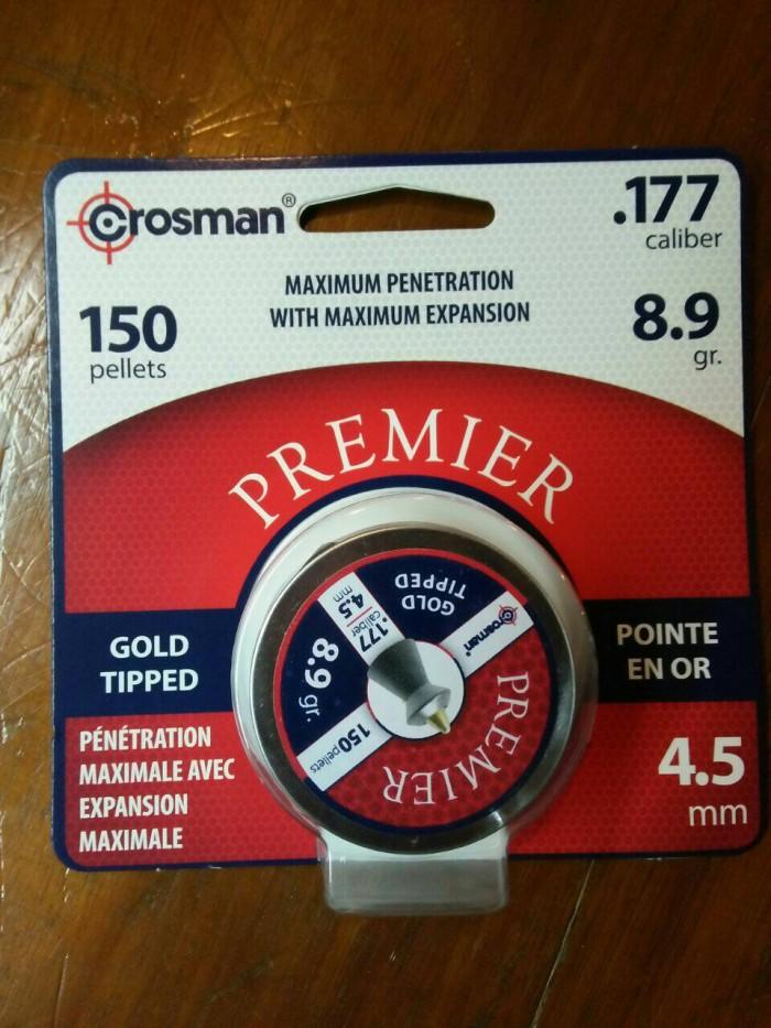 harga Mimis/pellets crosman premier gold tipped call 177. .4.5mm usa Tokopedia.com