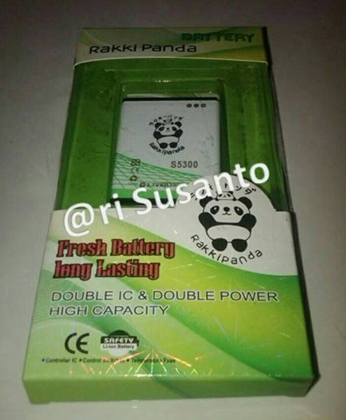 harga Baterai rakkipanda for samsung galaxy star s5282 double power 3500mah Tokopedia.com
