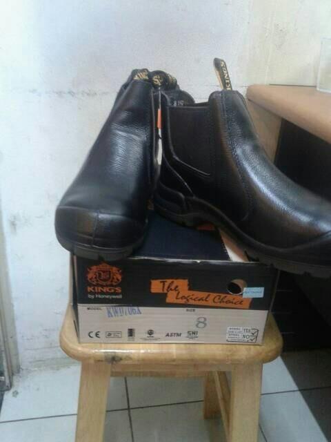 harga Sepatu safety merk king kwd 706 x Tokopedia.com