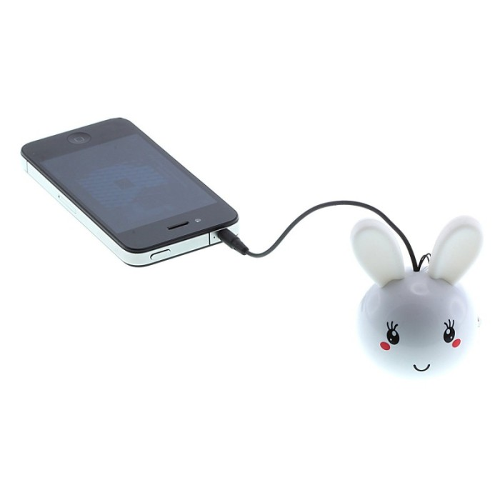 harga Speaker mini optimuz karakter bunny Tokopedia.com