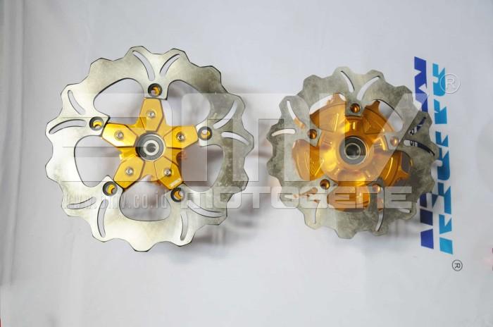 harga Tromol trusty blimbing mx king full cnc gold + disc brake Tokopedia.com