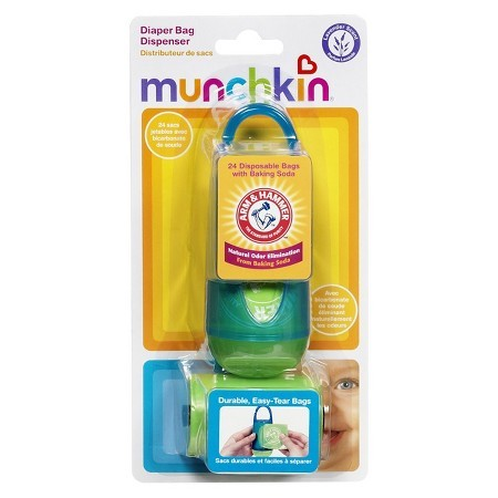 Munchkin Arm /& Hammer Hand and Face Wipes 24-Count