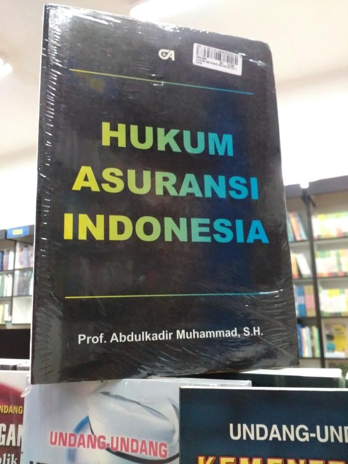 harga Buku hukum asuransi indonesia abdulkadir muhammad citra aditya ori pg Tokopedia.com