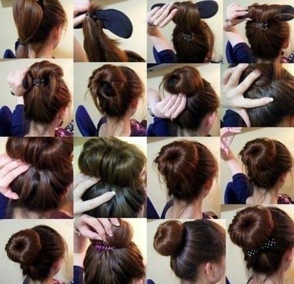 Foto Produk hardini memudahkan kuncir / gulung rambut / penjepit rambut hair style dari dadikstore