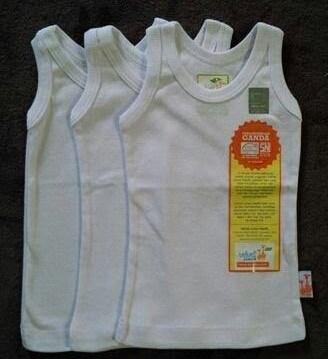 harga 3 pc size m/l singlet velvet junior / kaos dalam bayi / kaos kutang Tokopedia.com
