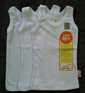 harga 1 lusin singlet velvet junior / singlet bayi/kaos dalam/kaos kutang Tokopedia.com