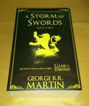harga A storm of swords - george rr martin Tokopedia.com