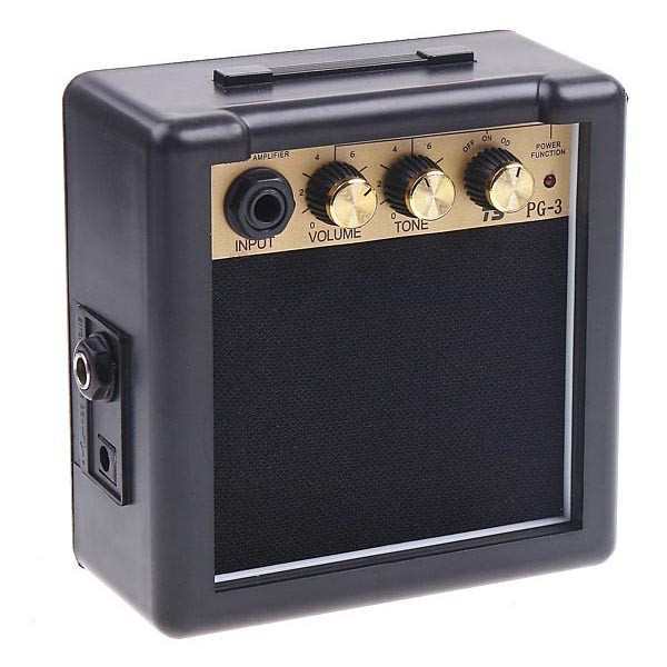 harga Pg-3 3w mini electric guitar amplifier speaker - black Tokopedia.com