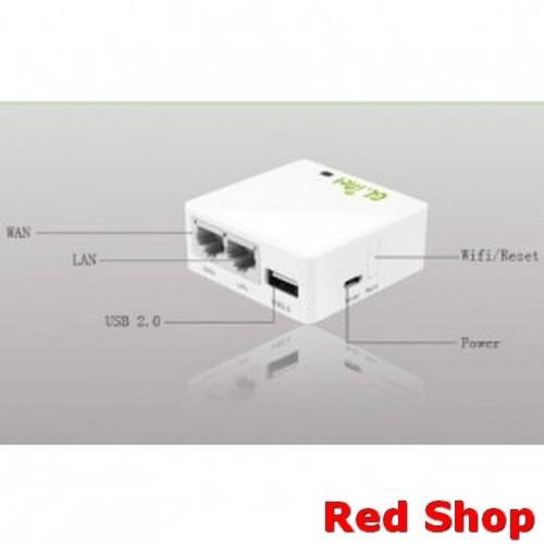 Jual GL iNet OpenWRT Mini Smart Router 16MB ROM - 6416A - White - DKI  Jakarta - Red Shop  | Tokopedia