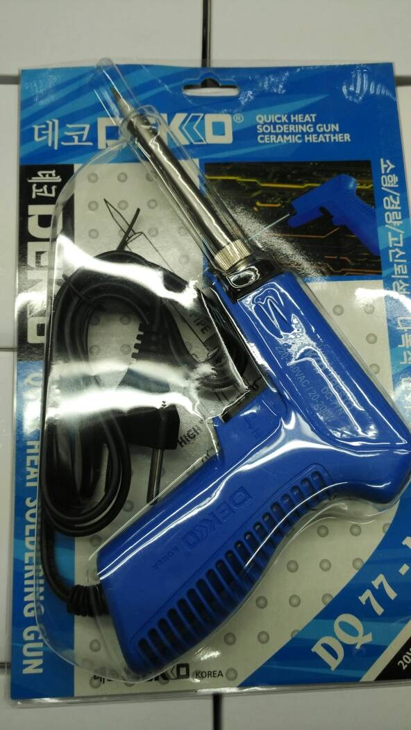 harga Solder tembak 20-200watt dekko (kualitas bagus) Tokopedia.com