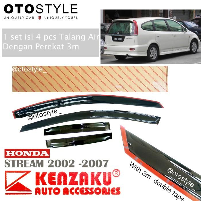 Talang air mobil kenzaku premium honda stream 2002-2007