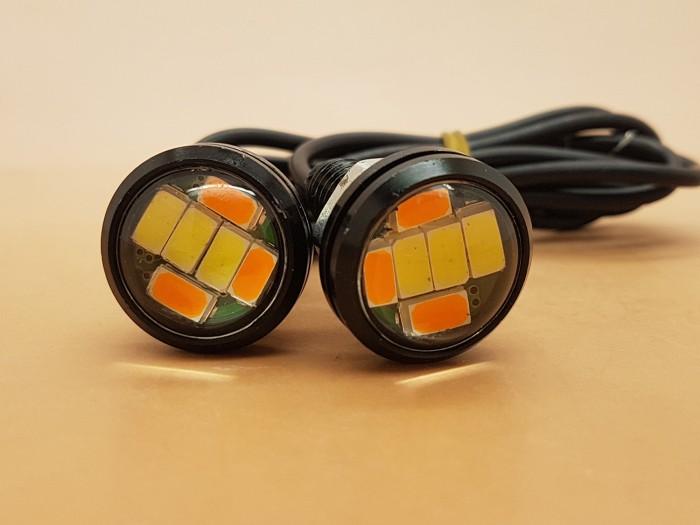 harga Lampu motor bolt on screw eagle eye lamp ( lampu drl + sein ) Tokopedia.com
