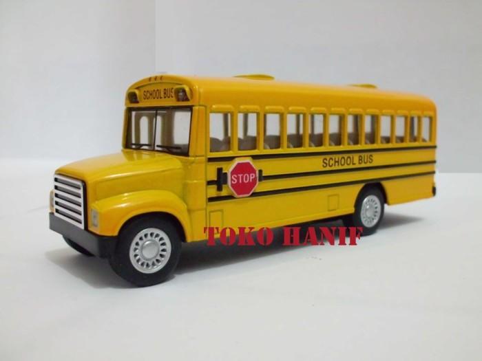 harga Diecast Miniatur Bus Sekolah Tokopedia.com