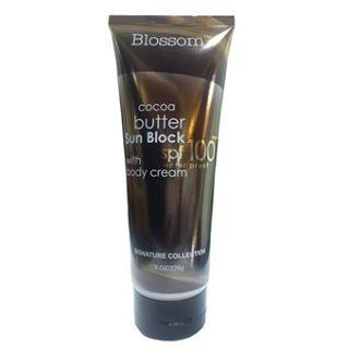 Blossom Cocoa Butter Sunblock SPF 100 with Body Cream 226 gr