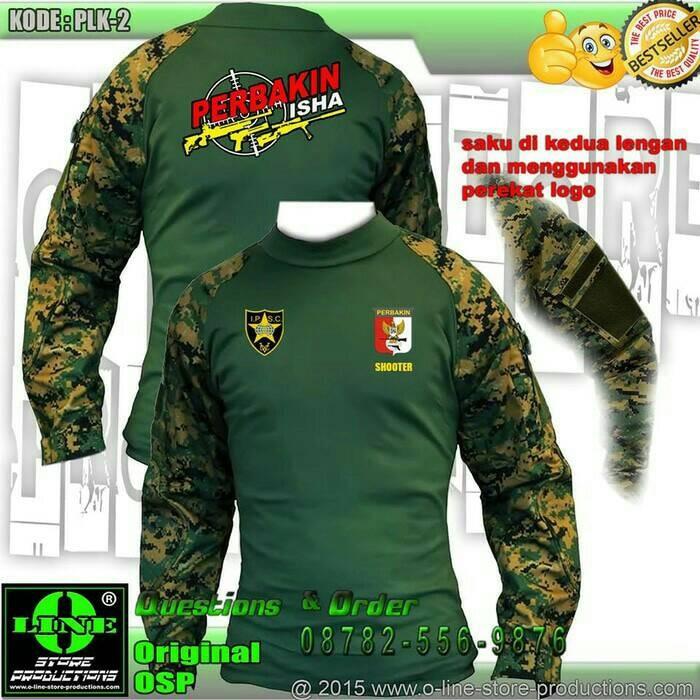 harga Baju perbakin/combat shirt/baju pria berburu/camo (hanya kaos) Tokopedia.com