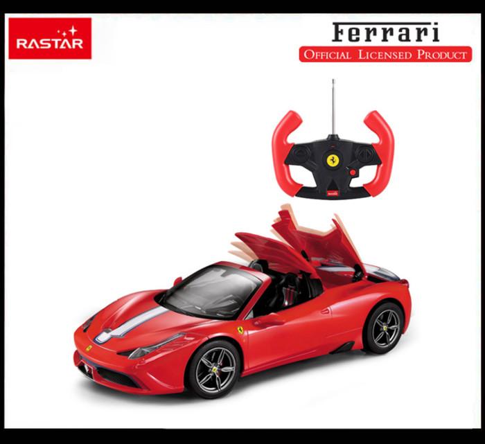 harga Rastar 1:14 ferrari a458 speciale a rc cars remote control 74560 Tokopedia.com