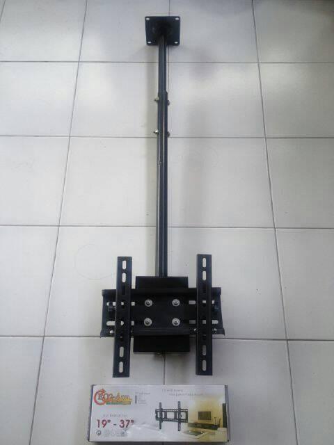 harga Brcket tv lcd / braket tv led celling plafon 19 - 37  incs Tokopedia.com