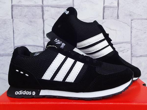 Jual Sepatu Adidas Neo Hitam Putih Murah(sepatu casual 1f6bdc08b2
