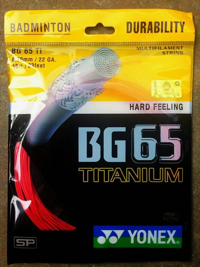 harga Senar bg65ti raket badminton Tokopedia.com