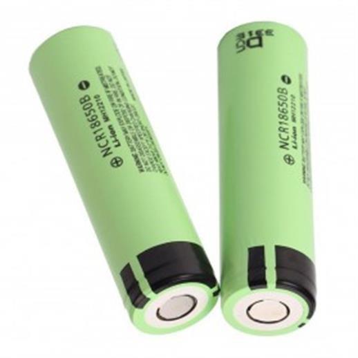 harga Panasonic ncr18650b li-ion baterai 3400mah 3.7v 30a flat top - green Tokopedia.com