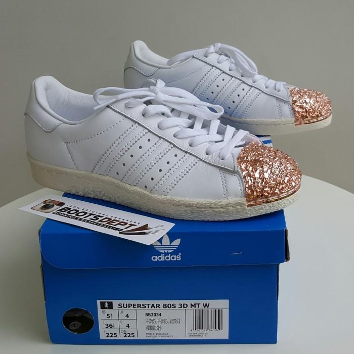 sports shoes e9cab 2fc27 Jual Adidas Superstar 80s 3D Metal Toe - White (BB2034) - Kab. Tangerang -  Futsal Boots/Boots Dept | Tokopedia