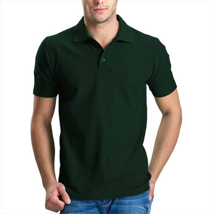 Jual Kaos polo shirt polos hijau army (Grosir) banyak warna - shout ... 82f64cef99