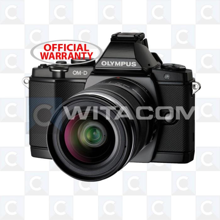 harga Olympus om-d e-m5 / omd em5 12-50mm f/3.5-6.3 black Tokopedia.com