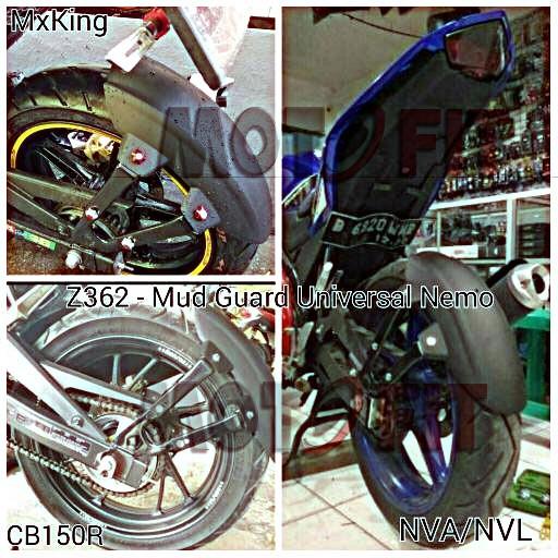 Foto Produk mud guard Jupiter MX New/Old - MX King Pulsar 200NS Mudguard mx king dari MOTO FIT VARIASI