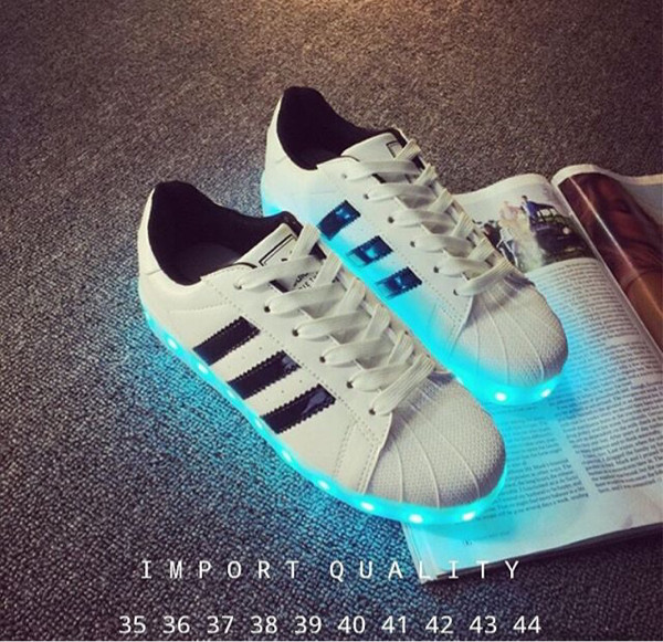 led schoenen adidas superstar