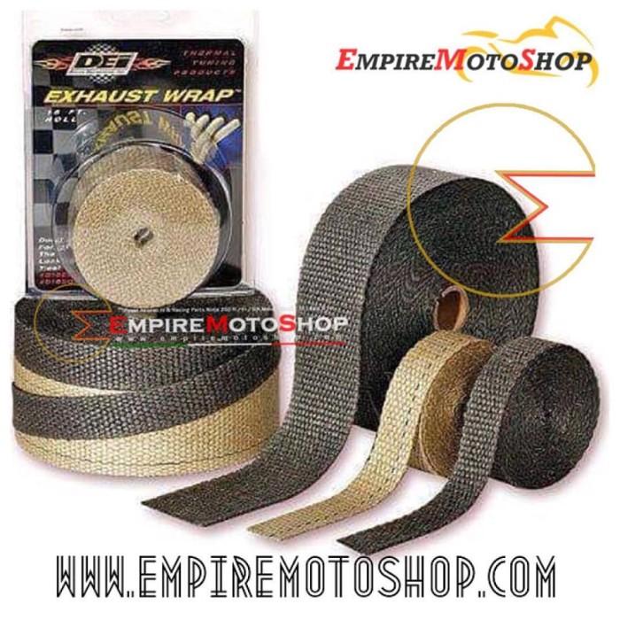 harga Dei exhaust wrap black 1  untuk header knalpot (original) 1 meter Tokopedia.com