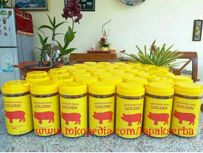 harga Abon babi super golden 300 gr / pork bacon floss khas salatiga Tokopedia.com