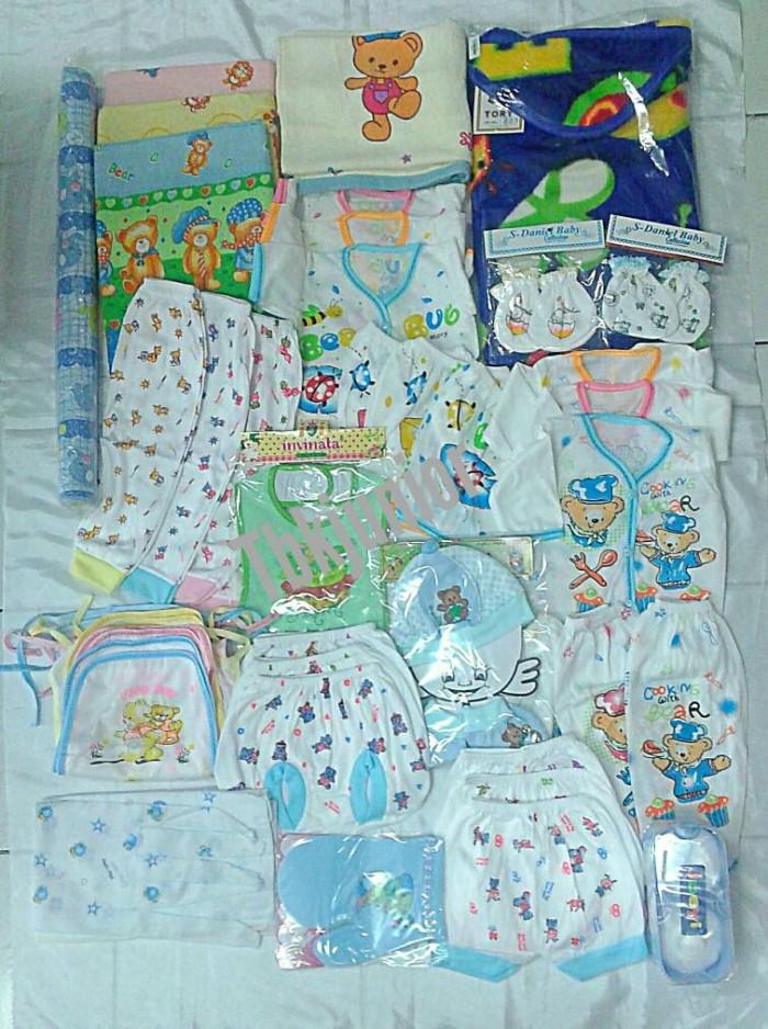 56 Model Baju Bayi Lahir Kekinian