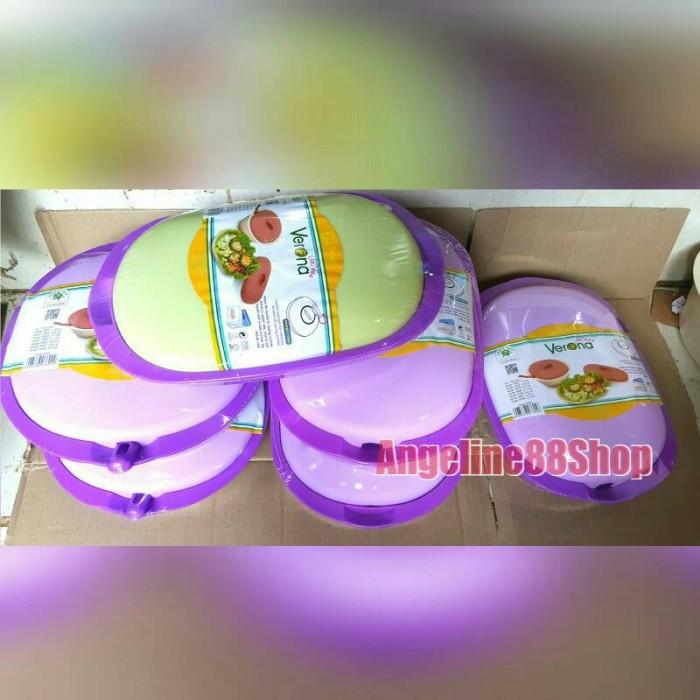 harga Verona wadah saji / tempat sayur 7 set ungu / violet microwave safe Tokopedia.com
