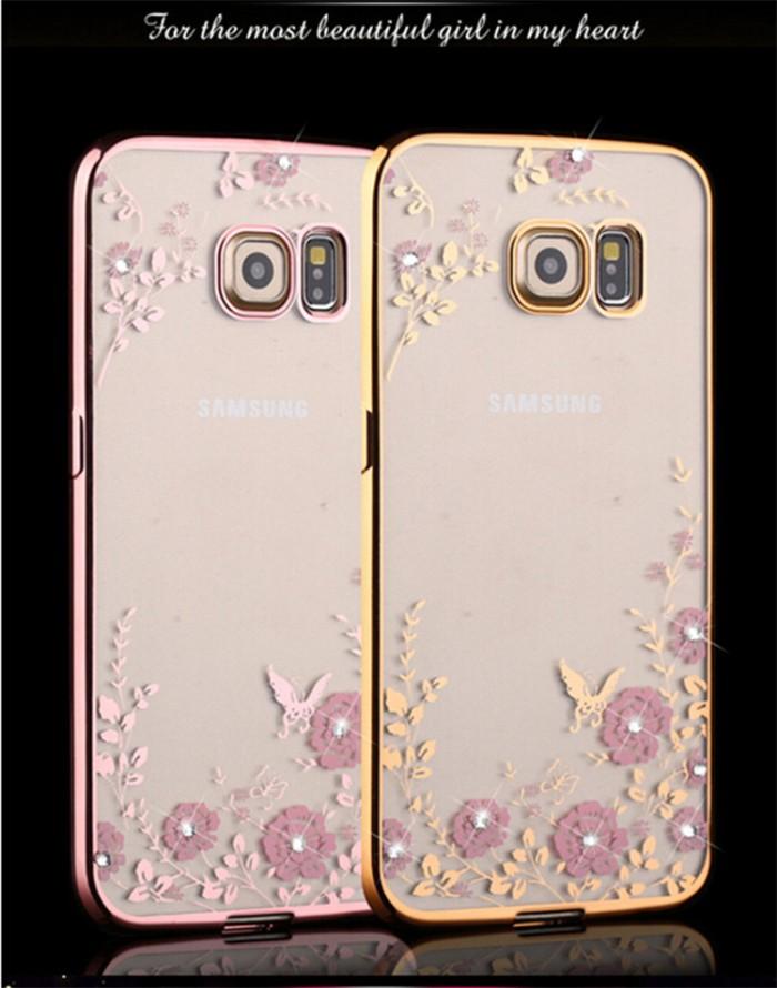 harga Casing silicon flower bling diamond samsung s7 edge cover soft case Tokopedia.com